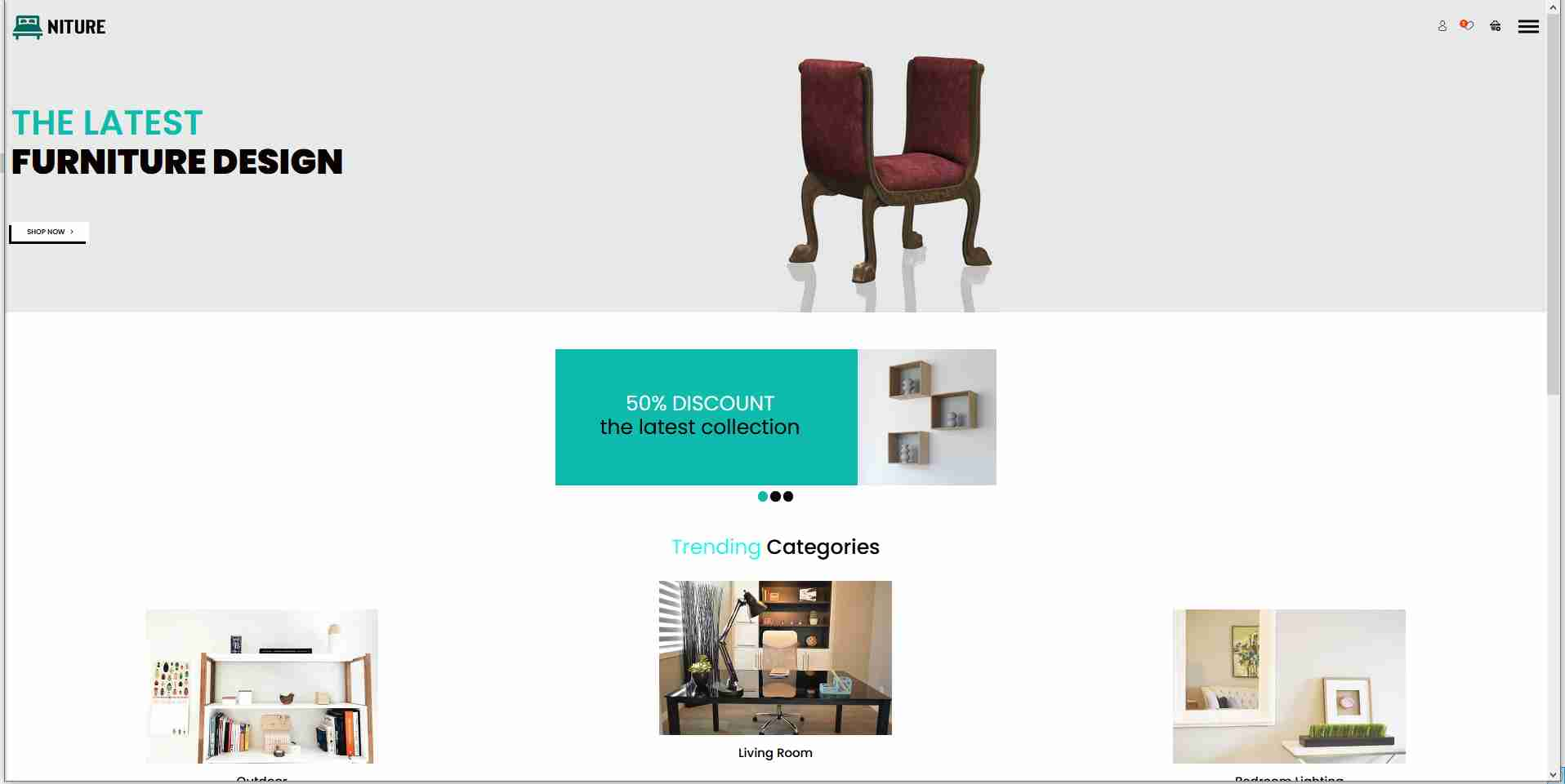 E-commerce Responsive Website Using HTML/CSS    with  Free Source Code  🙏  https://bit.ly/2SbMCLf