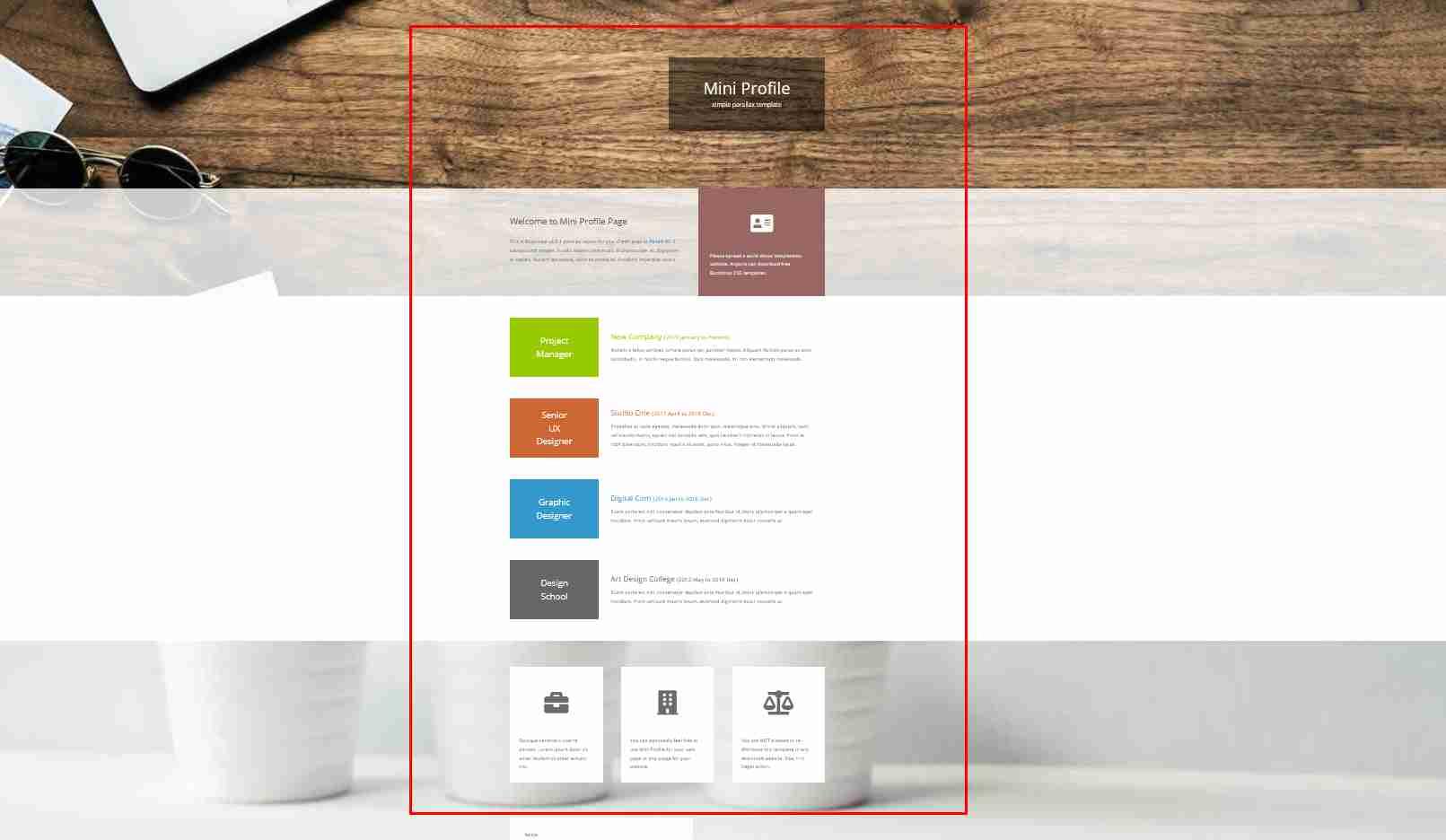 How To Make Resume Website Design Using HTML Add CSS | Personal Portfolio Website Design Tutorial