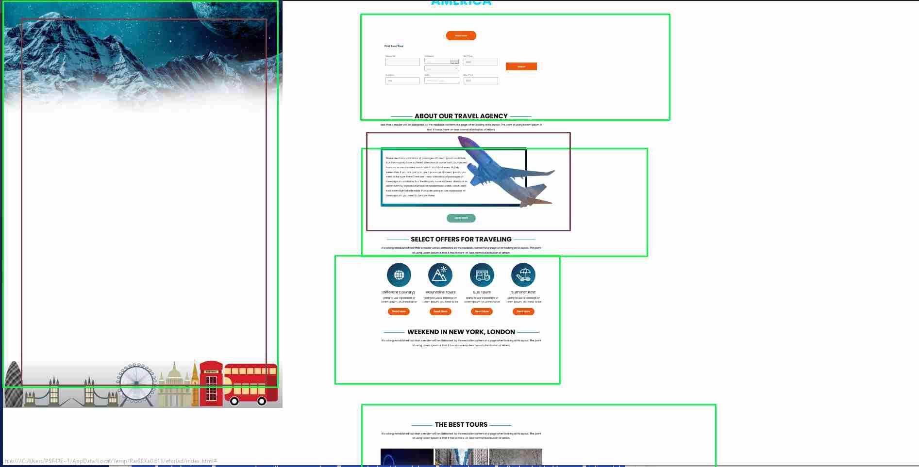 Complete Responsive Website Using HTML, CSS & JAVASCRIPT