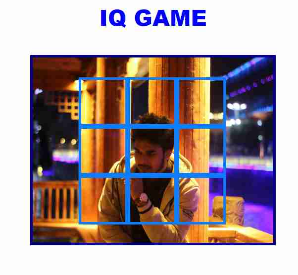 IQ Game With javascript ,jquery,html and css