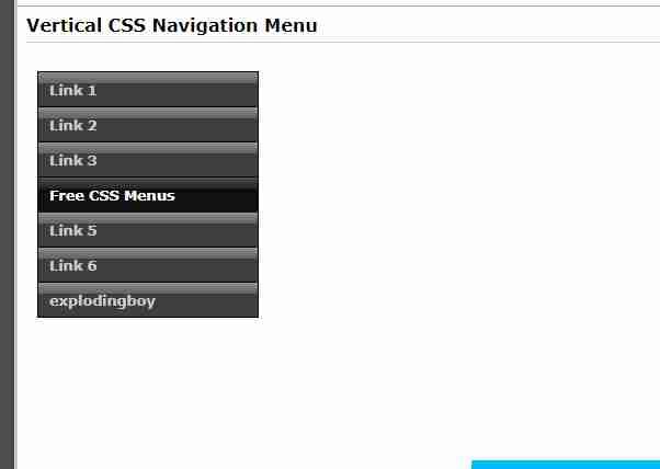 responsive navigation menu css free download