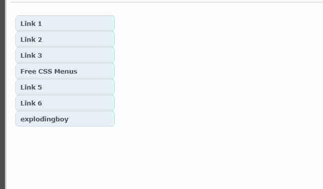 sidebar menu responsive source code