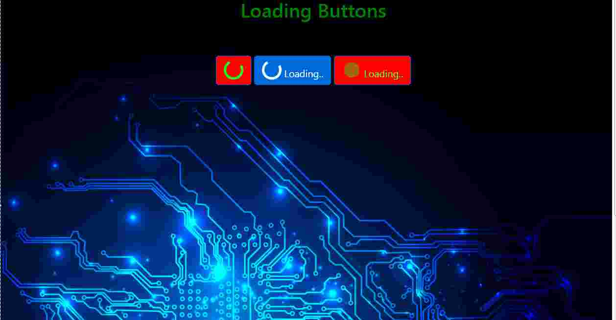 Loading Button / html/css/js/BS4