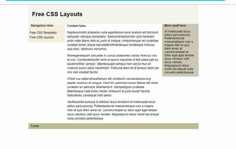 Create Website Layout Only Using CSS GRID