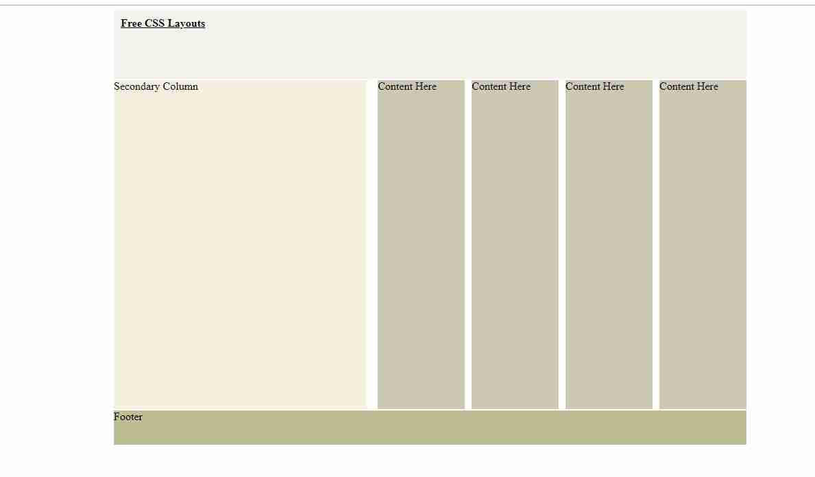 css grid responsive layout