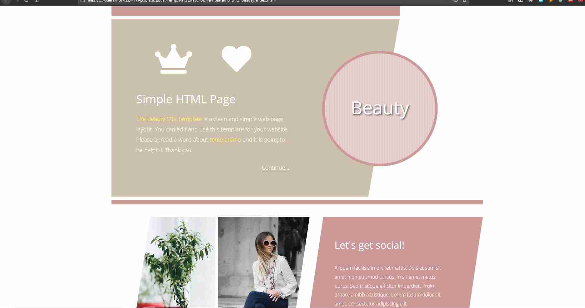 how to create Complete Responsive Website from Scratch using Html CSS