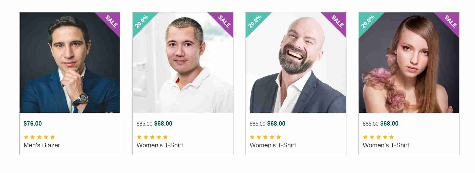 Product ,Team & Pricing Grid Template