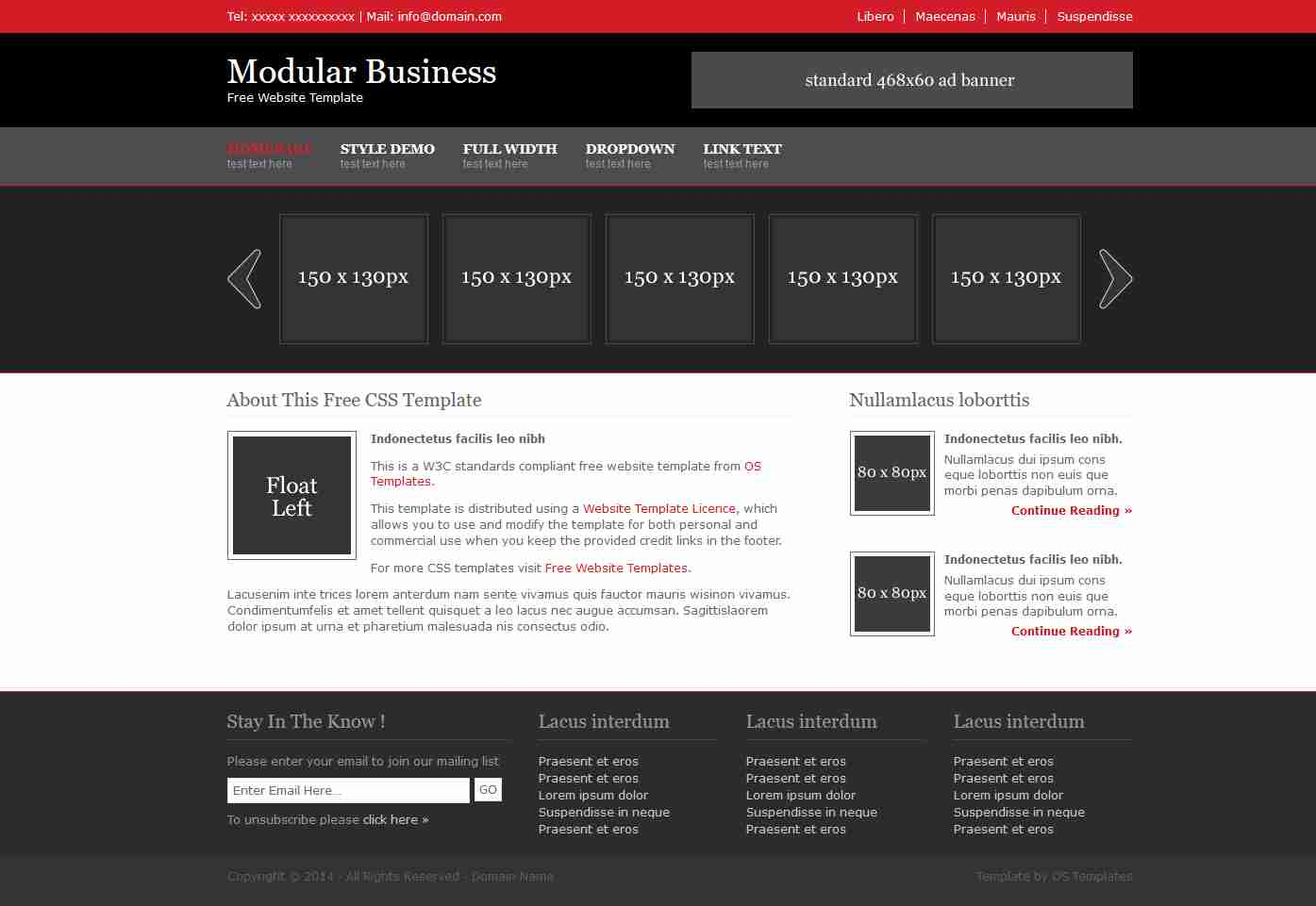 How to create a awesome business website using only HTML & CSS