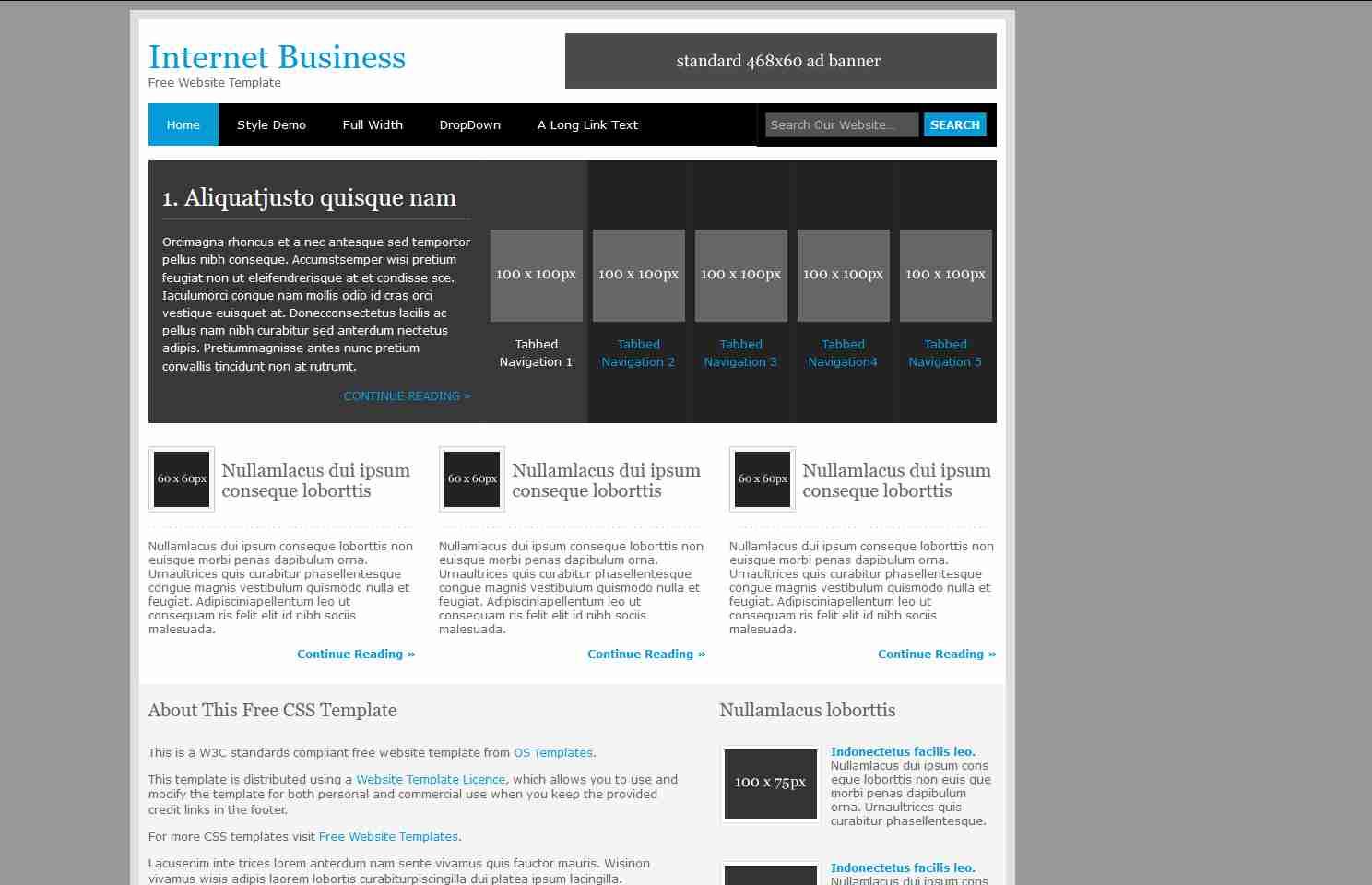 Online Store E-commerce Responsive Website Using HTML/CSS